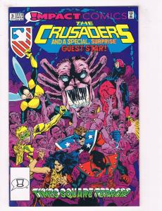 The Crusaders #3 FN Impact Comics Comic Book July 1992 DE37 TW7