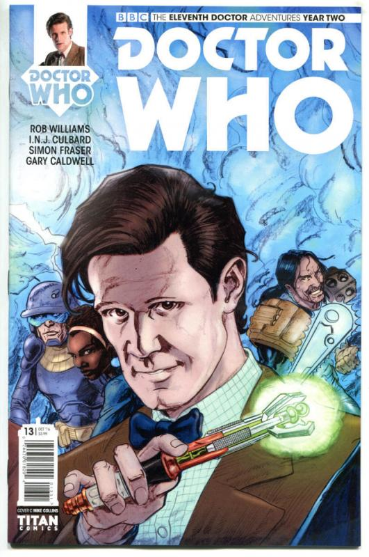 DOCTOR WHO #13 C, NM, 11th, Tardis, 2015, Titan, 1st, more DW in store, Sci-fi