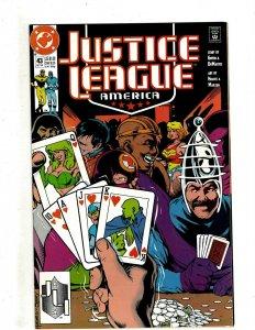 12 Justice League America DC Comics # 43 44 45 46 47 48 49 50 51 52 53 54 HG3