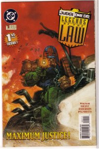 Judge Dredd  : Legends of the Law   # 1 FN