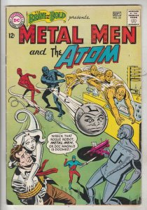 Brave and the Bold, The #55 (Sep-64) NM- High-Grade Metal Men (Tin,Iron, Gold...