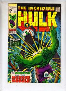 Incredible Hulk #123 (Jan-70) FN/VF Mid-High-Grade Hulk