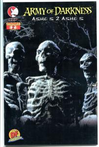 ARMY of DARKNESS #2, NM+, Limited Photo, COA, Ashes 2 Ashes, Skeletons, AOD,2004