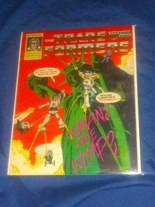 TRANSFORMERS #95 (1987) Marvel UK comics VG+
