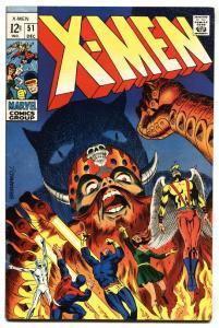 X-MEN #51 comic book 1965-MARVEL SILVER AGE  JIM STERANKO