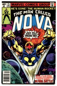 NOVA #25-comic book MARVEL BRONZE-AGE 1979-LAST ISSUE
