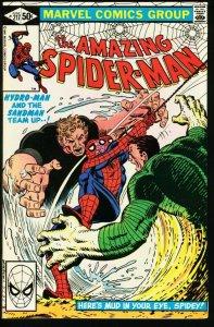 AMAZING SPIDER-MAN #217-1981-MARVEL FN/VF
