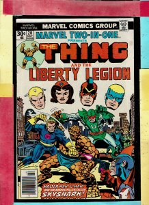 THE THING AND LIBERTY LEGION 20