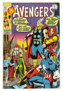 Avengers 92   Neal Adams cover