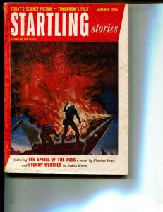 Startling Stories-Pulp-Summer/1954-Fletcher Pratt-Gotthard Gunther