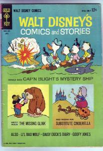 Comics and Stories, Walt Disney's #283 (Apr-64) VG+ Affordable-Grade Donald D...