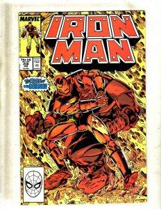 Lot of 12 Iron Man Comics #238 239 240 241 242 243 244 245 246 247 248 249 GK36