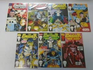 Punisher War Zone lot 14 different from #1-38 + Annuals 8.0 VF (1992-95)