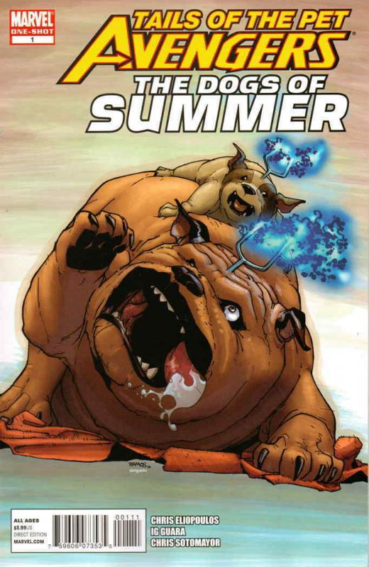 Tails of the Pet Avengers: Dogs Of Summer #1 VF/NM; Marvel | save on shipping -