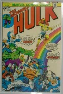 The Incredible Hulk #190 - 4.0 VG - 1975