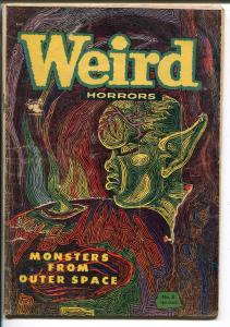 WEIRD HORRORS #6-1953-ST JOHN-EKGREN COVER-PRE-CODE HORROR-SURREAL-vg