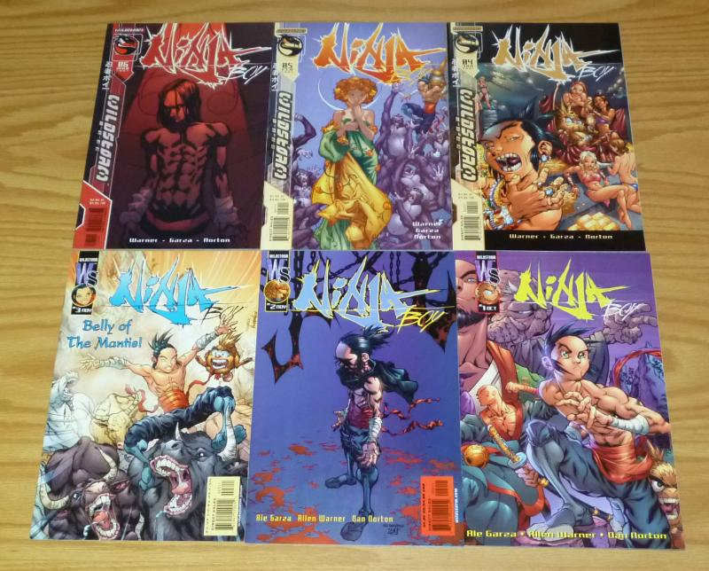 Ninja Boy #1-6 VF/NM complete series - wildstorm comics - ale garza 2 3 4 5 set