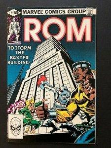 MARVEL ROM Spaceknight #23 Luke Cage-Power Man & Iron Fist FINE (A47)