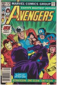 The Avengers #218 (1982)