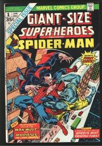 GIANT SIZE SUPER HEROES 1(1974)-VF- 7.5 RAREST MORBIUS