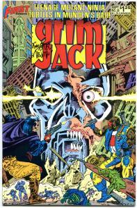 GRIM JACK #26, VF/NM, 2nd Teenage Mutant Ninja Turtles, Signed Tim Truman, 1986