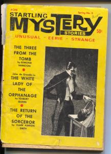 Startling Mystery Stories-Spring 1968-unusual eerie & strange pulp stories-VG