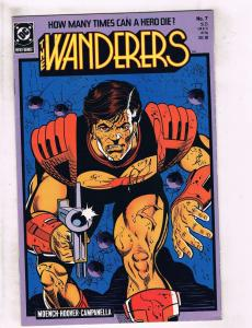 Lot of 7 The Wanderers DC Comic Books #7 8 9 10 11 12 13 BH45