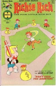 RICHIE RICH  (1960-1991) 155 VF-NM   June 1977 COMICS BOOK