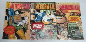 METROPOL AD (1992 EPIC) 1-3 McKeever set complete