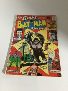 Batman Giant Annual 3 Vg Very Good 4.0 DC Comics Silver Age