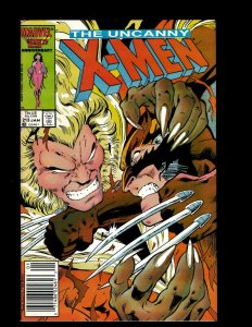 Uncanny X-Men # 213 NM- Marvel Comic Book Wolverine Sabretooth Storm Rogue GB4