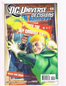 DC Universe Decisions # 2 NM 1st Print Comic Book Green Lantern Batman Flash S61