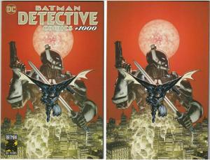 Detective Comics #1000 (DC 2019) Mahnke Planet Variant 1st Arkham Knight Set