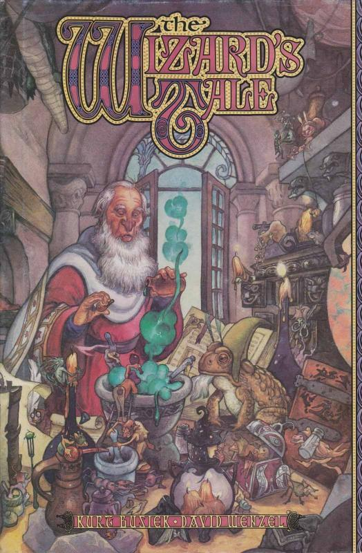 Wizard's Tale, The HC #1 VF/NM; Image   save on shipping - details inside