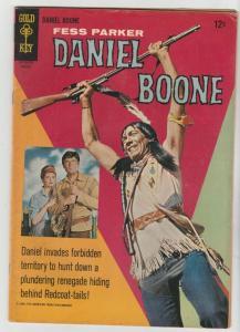 Daniel Boone #6 (Aug-66) FN+ Mid-High-Grade Daniel Boone