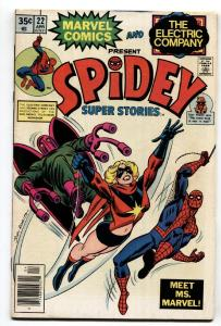 Spidey Super Stories #22-MS. MARVEL appearance comic book