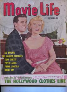Movie Life-Gordon MacRae-Ricardo Montalban-Alan Ladd-Tony Curtis-Sept-1951