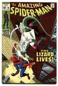 AMAZING SPIDER-MAN #76 1969- LIZARD - JOHN BUSCEMA- MARVEL COMICS-vf-