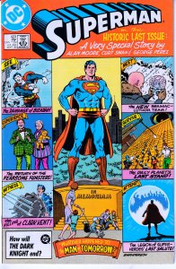 Superman - Whatever Happened to the Man of Steel ? Parts 1 - 2