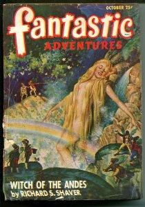 FANTASTIC ADVENTURES 10/1947-ZIFF-DAVIS-PULP SCI-FI-JONES-LIVINGSTON-PHILLIPS-fr
