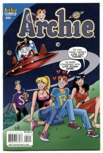 Archie Comics #655 2014- Flying Saucer cover VF