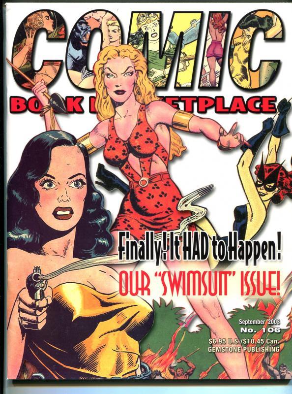 Comic Book Marketplace #106 2003-Sheena-Good Girl Art-swimsuit-Celardo-VF
