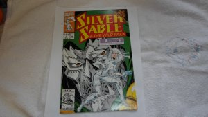 1992 MARVEL SILVER SABLE & THE WILD PACK # 4
