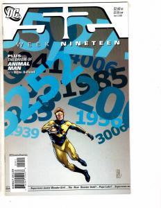 10 52 DC Comic Books # 19 20 21 22 23 24 25 26 27 28 Weeks Batman Superman J214