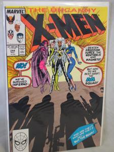Uncanny X-Men 244  1989  in VF/NM condition. Unread . 1st Jubilee !