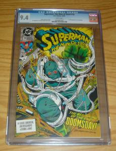 Superman: the Man of Steel #18 CGC 9.4 first appearance of doomsday - 1st key