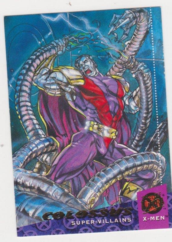 1994 Fleer Ultra X-Men Card #54 Colossus
