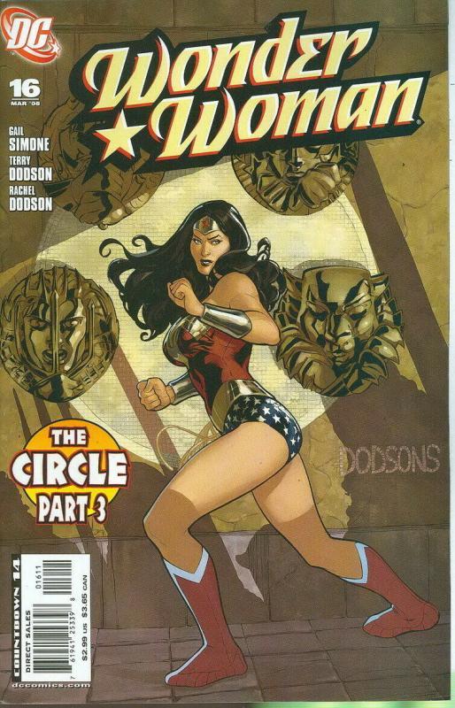 WONDER WOMAN (2006 DC) #16 NM- A95115