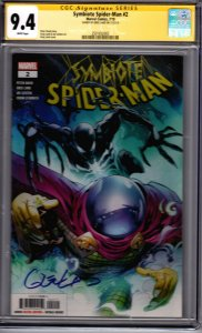 Symbiote Spider-Man #2! CGC Signature Series 9.4! Signed by Greg Land!