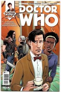 Doctor Who Eleventh Doctor Year Two #9 Cvr C (Titan, 2016) NM
